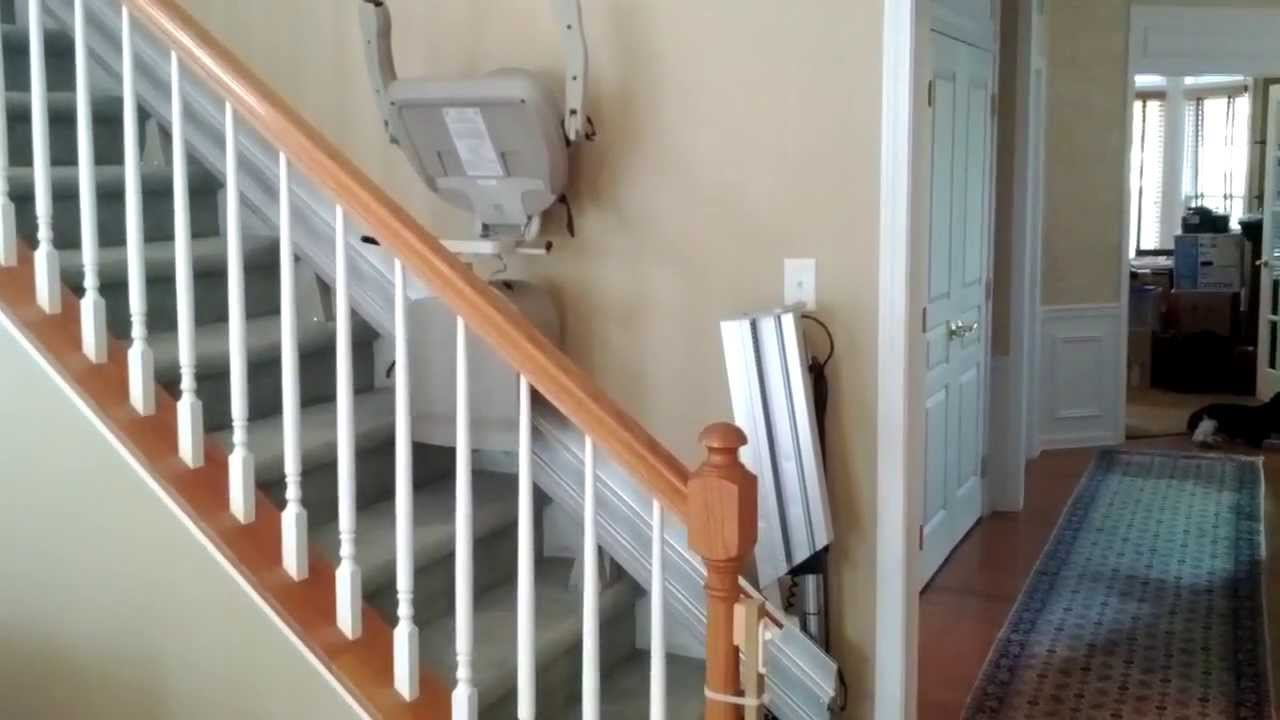 Stair Lift Bruno Power Folding Hinge Rail Stairlift