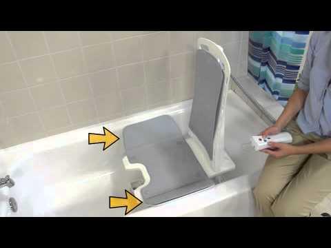 Bellavita Car Bath Tub Chair Seat Lift 477200252 187 Acorn