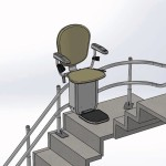 Curved House Stairlift