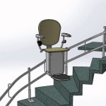 Mokhtarezadeh Full Spiral stairs with Exterior curved carry