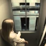 Quick Elevator Prank Gorgeous Russian Woman