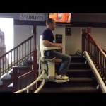Stannah Curved Stairlift from PROGRESSIVE MOBILITY AND MEDI