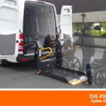 DH-PH2.05 500kg 1350mm DHOLLANDIA passenger lift with vertical split platform