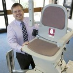 John Jakes builds Acorn Stairlifts from scratch