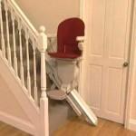Stair Lift Accessories: 'Slide Track' vs. 'Hinged Rail'