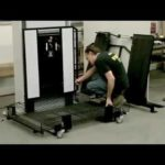 Moveable Wheelchair Lift Set up
